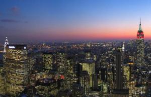NY Skyline - Spend an evening watching it!